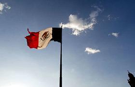 Meksikoje iš įgriuvusios kasyklos ištraukti vieno žuvusiojo palaikai