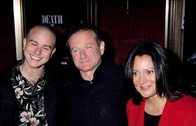 Robino Williamso sūnus pagerbė prieš 6-erius metus mirusį tėvą: jautriame laiške – padėka velioniui