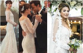 """Ta pati dizainerė kūrė ir Sofio Gelašvili, ir """"50 išlaisvintų atspalvių"""" aktorės vestuvines sukneles"""