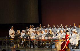 """Valstybės šimtmečio premjera: operą """"Prūsai"""" įvertino ir pats G.Kuprevičius"""