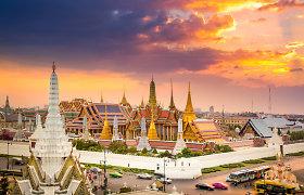 Tailando valdžia iki spalio vidurio atidėjo Bankoko atvėrimą užsienio turistams