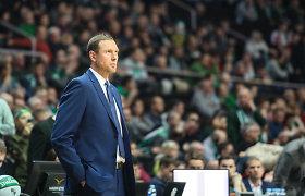 """D.Songaila kyla karjeros laiptais – tapo G.Popovičiaus asistentu """"Spurs"""" ekipoje"""