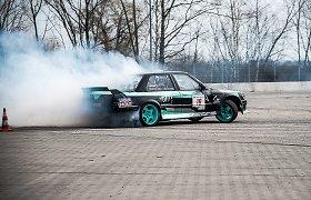 """Marijampolės """"Drift Arena"""" trasoje startuoja keturių etapų serija """"Iron Wolf Parts Drift Cup"""""""