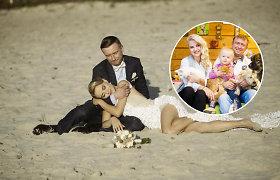 Prieš 5 metus susituokę Jampolskiai medinių vestuvių nešvęs – planus pakeitė augintinė Trioškė