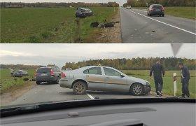 Kelių policija: kas savaitę nutinka šimtai avarijų, jų priežastys, regis, banalios