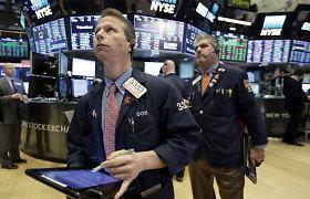 """""""Dow Jones"""" pirmą kartą per dvi savaites įveikė 25 tūkst. punktų ribą"""