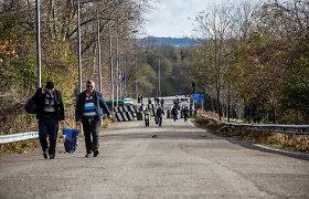 Separatistinės Abchazijos prezidento rinkimus laimėjo Aslanas Bžanija