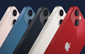 """""""Apple"""" pristatė naują """"iPhone 13"""": žada greitį ir ilgesnio veikimo bateriją"""