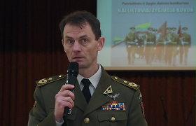 Kaip priimti sprendimus chaose? Buvęs specialiųjų operacijų pajėgų eskadrono Afganistane vadas V.Šerelis pasidalijo patirtimi