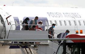 A.Anušauskas: visi į Lietuvą parskraidinti afganistaniečiai turi pabėgėlio statusą