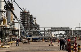 Saudo Arabija: Rijado naftos pramonės objektui smogė dronai, nepadarę rimtos žalos