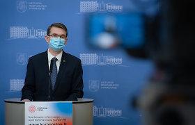 Arūnas Dulkys: nauja koronaviruso atmaina, be Anykščių, aptikta dar aštuoniuose miestuose