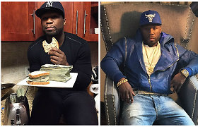 Bankrutuojantis reperis 50 Cent papasakojo, kaip jam pavyko apgauti pasaulį ir apsimesti turtuoliu