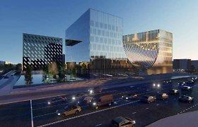 Suabejota Teismų rūmų Vilniuje projekto originalumu: įtartinai panašus į bokštą Kinijoje