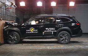 """Naujasis """"Subaru Outback"""" gavo """"EuroNCAP"""" saugumo įvertinimą"""
