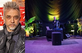 """Į uždarą albumo perklausą pakvietęs A.Mamontovas: """"Kad paleistum, reikia atleisti"""""""