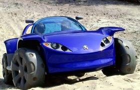 """""""Peugeot"""" idėjų laboratorija: kaip kuriami koncepciniai automobiliai"""