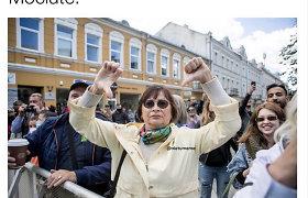 """Prieš """"Kaunas Pride"""" protestavę asmenys tapo memais"""