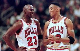 Michaelo Jordano ginklanešys – koks buvo visų mylimas Scottie Pippenas?