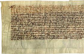 Vilniuje eksponuojamas didžiojo kunigaikščio Gedimino laiškas