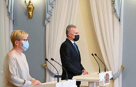 Daugiau nei pusė apklaustų lietuvių mano, kad G.Nausėda turėtų tęsti dalyvavimą EVT