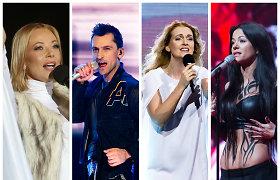 """""""Eurovizijos"""" istorija 1999–2019: kas galėjo atstovauti Lietuvai, bet liko antri?"""