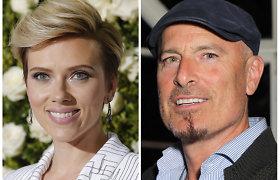 Su vyru besiskirianti Scarlett Johansson užmezgė romaną su savo advokatu