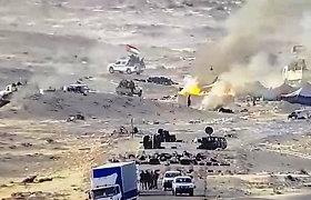 JT: neramioje Vakarų Sacharoje vėl aidėjo šūviai