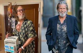 Vėžiu serganti kino legenda Jeffas Bridgesas papasakojo apie savijautą prasidėjus ligos gydymui