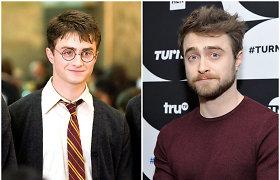 Aktorius Danielis Radcliffe'as dėl jį kamavusio alkoholizmo kaltina Hario Poterio vaidmenį