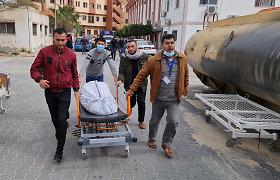 Prie Gazos Ruožo krantų per sprogimą žuvo trys žvejai