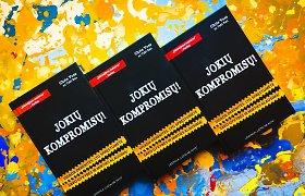 Naujų knygų lentynoje – bestseleris apie derybas