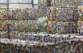 Vasarą pajūryje grąžinta trečdaliu daugiau stiklinių užstato pakuočių