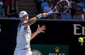 """""""Australian Open"""" : laimėjo Dominicas Thiemas, tačiau ne Ernestas Gulbis"""