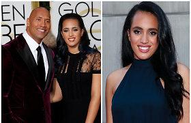 Dwayne'as Johnsonas didžiuojasi jo pėdomis sekančia dukra: mergina tapo profesionalia imtynininke