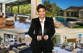 Kris Jenner paliko dukters kaimynystę: prabangūs žinomos moters namai turi naują šeimininkę