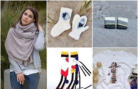 Kalėdų dovanos – tiesiai iš lietuvių kūrėjų rankų: nuo gamtos įkvėptų papuošalų iki jaukių mezginių