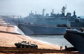 Bosforo sąsiauryje susidūrė Turkijos ir Rusijos krovininiai laivai
