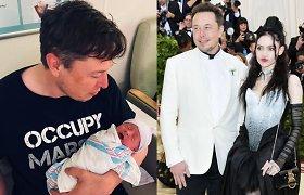 Elonas Muskas pasidalijo reta šeimos nuotrauka: įsiamžino ir mylimoji, ir ūgtelėjęs sūnus