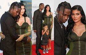 Pertraukos santykiuose kaip nebūta: Kylie Jenner ir Travisas Scottas – vėl pora?