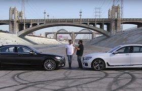"""Amerikiečiai palygino S klasės """"Mercedes-Benz"""" su BMW 7"""