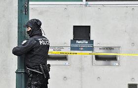 Vankuveryje peiliu ginkluotas užpuolikas bibliotekoje nužudė 1 žmogų, sužeidė dar penkis