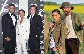 Koronavirusas buvo įsisukęs ir Beckhamų šeimoje, užsikrėtė keli jų komandos nariai