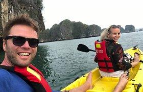 Ignas Krupavičius ir Vaida Kazakauskytė keliauja po Vietnamą