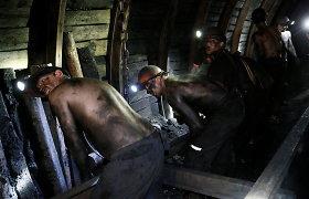 Rytų Ukrainoje per sprogimą anglių kasykloje žuvo žmogus, dar devyni nukentėjo