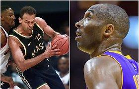 Kobe Bryanto vaikystės idealas papasakojo apie judviejų ryšį
