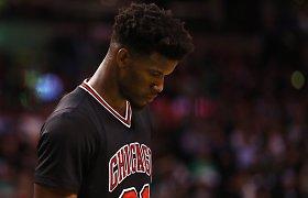 """Iš """"Bulls"""" išspirtas J.Butleris: """"Daugiau nenoriu būti jokios komandos veidas"""""""