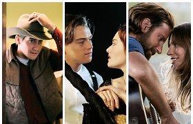 Testas: ar žinote bent 10 iš šių 15-os romantinių filmų?