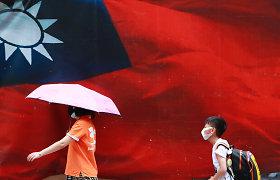 Honkongo transliuotojas uždraudė minėti Taivano vyriausybę