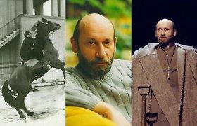 Aktoriui Vytautui Grigoliui – 70: Tragikas su lyriko siela